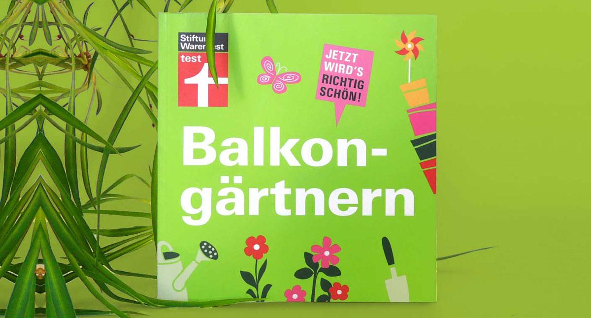 Das Buch zum Balkon und Terrassengarten
